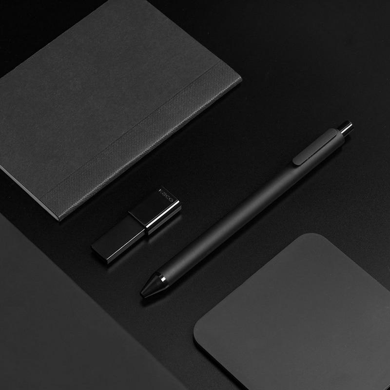 10 pièce/ensemble Original stylo Xiao mi jia Kaco 0.5mm stylo à bille mi Kaco noyau stylo signature Durable recharge encre noire + recharges Kaco