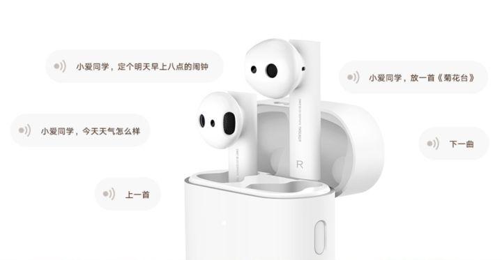 Original Xiaomi Air TWS Bluetooth casque 2 Airdots pro 2 Xiaomi commande vocale intelligente LHDC HD son dynamique robinet contrôle ENC