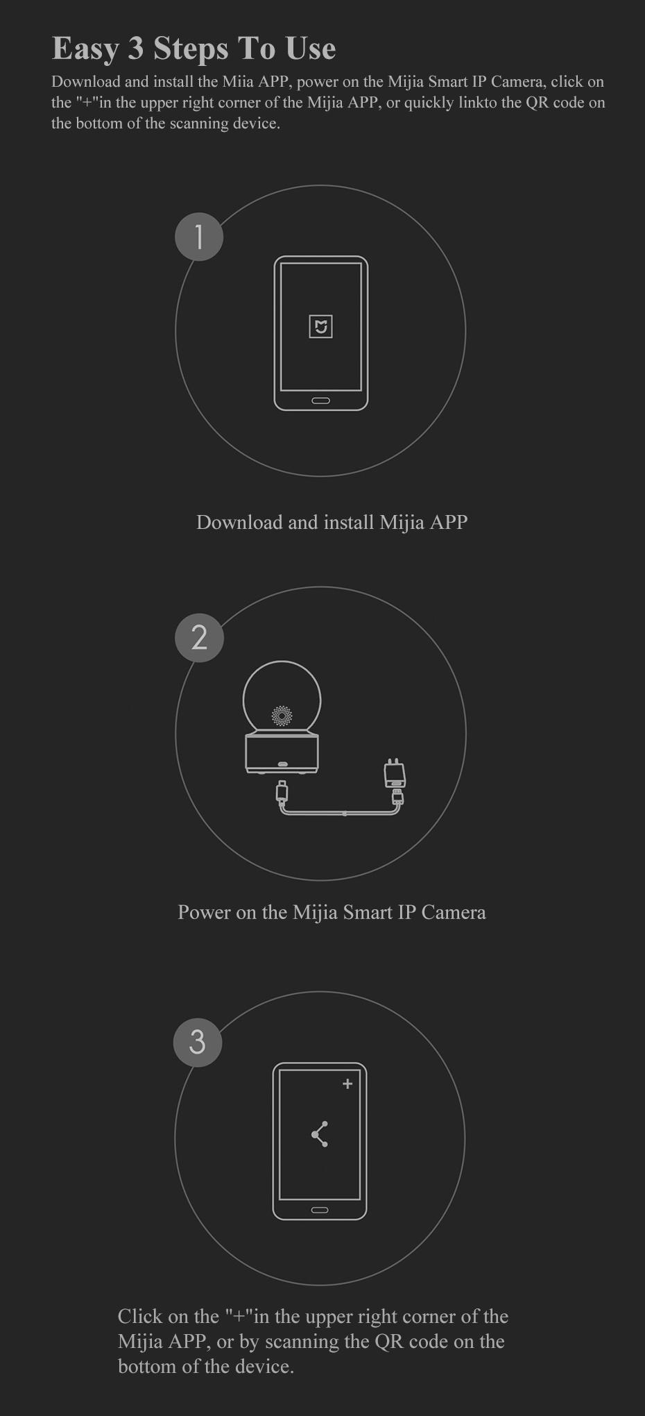 Xiaomi Mijia caméras maison intelligente caméra 1080P HD WiFi sans fil IP caméra 360 Angle vidéo CCTV nuit Webcam PTZ sécurité Mornitor