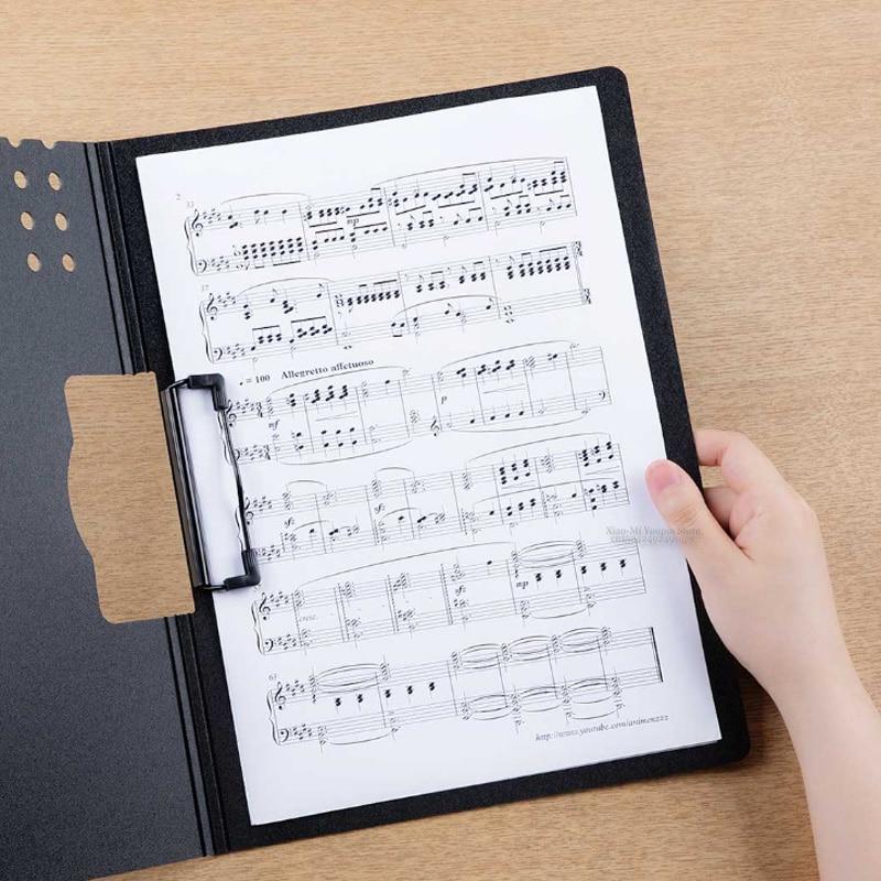 Nouveau Xiaomi Fizz Horizontal A4 dossier mat Texture Portable Pad Portable stylo plateau épaissir mallette école fournitures de bureau