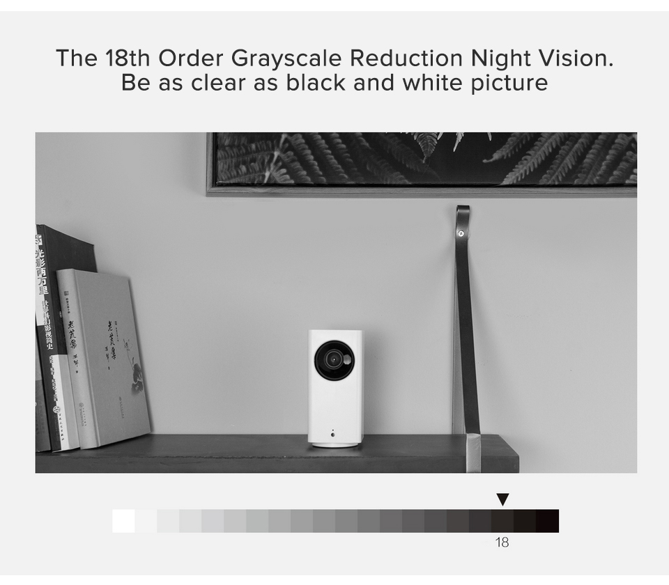 Xiao mi mi jia caméra IP Dafang moniteur intelligent 120 degrés 1080p sécurité intelligente WIFI Vision nocturne caméra pour mi maison App