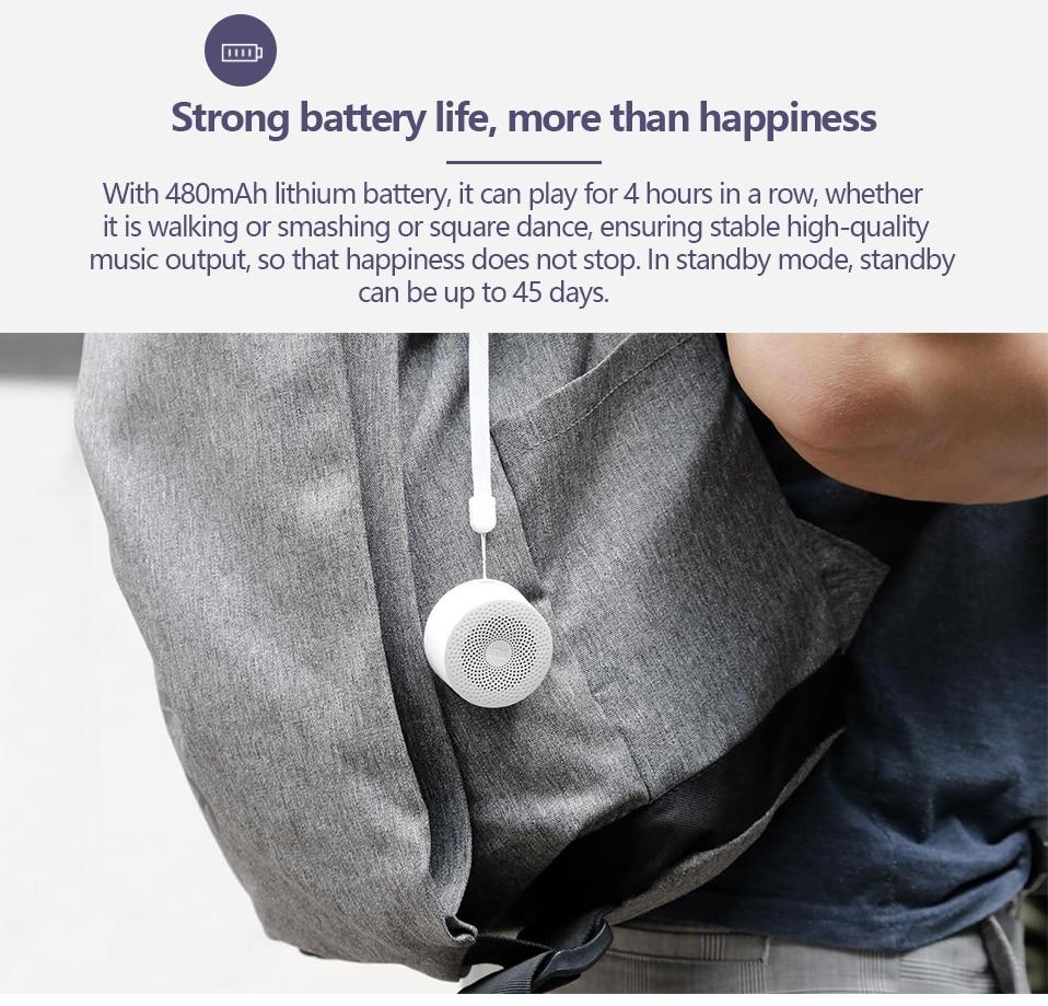 Xiaomi Original AI Bluetooth haut-parleur Portable Mini sport musique haut-parleur vie étanche mode petits haut-parleurs AI haut-parleur