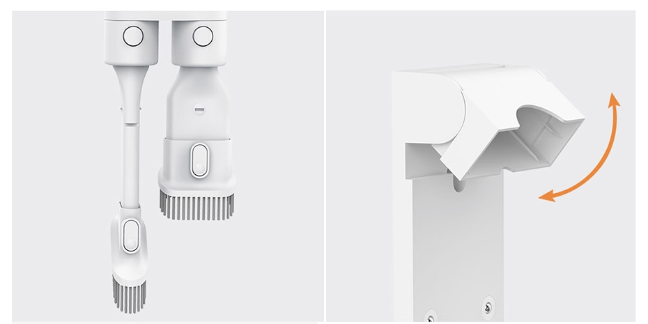 Xiaomi Mijia 1C aspirateur à main sans fil Portable sans fil forte aspiration aspirador maison cyclone propre dépoussiéreur