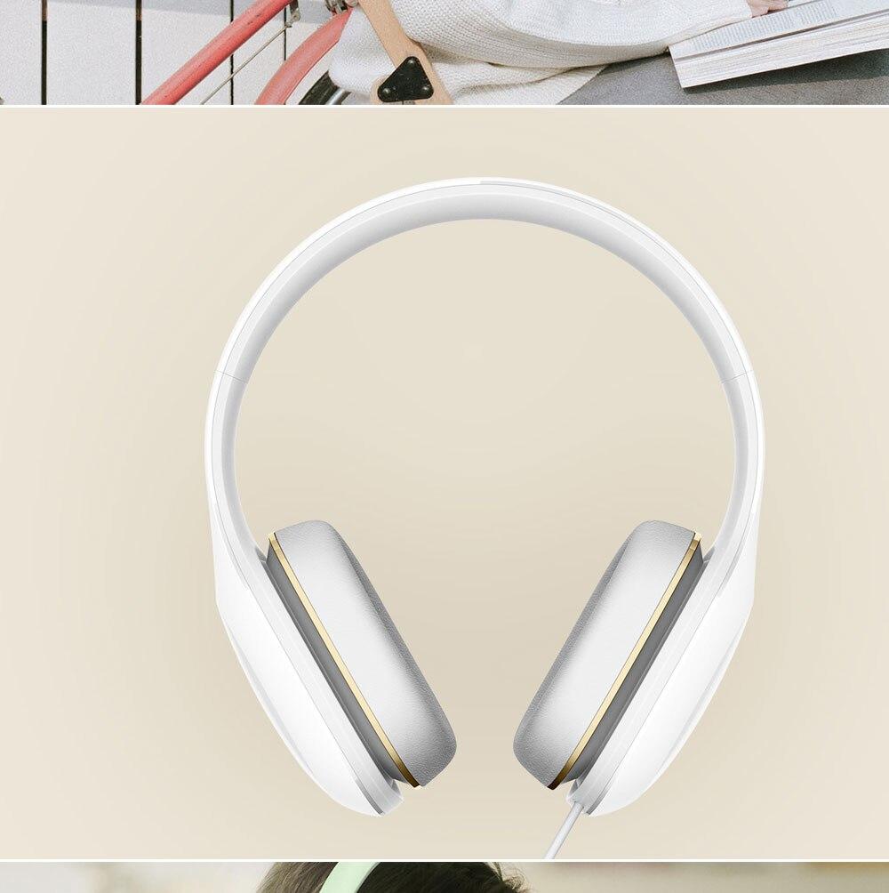 Xiao mi casque Version facile 3.5mm Sterero musique HiFi mi casque confort écouteur pour téléphones mobiles Sport