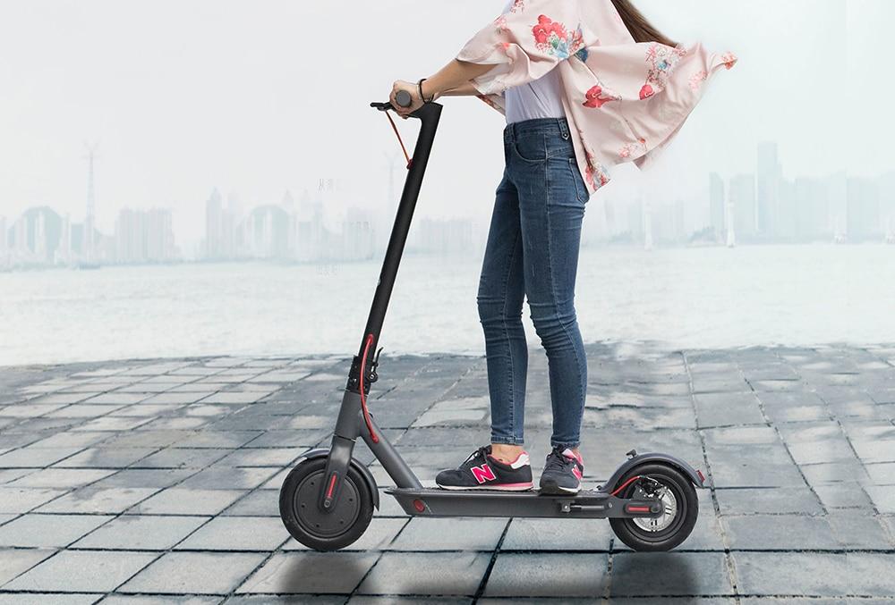 350W puissance moteur scooter électrique Bluetooth application scooter 7800mAh vs xiaomi Pro top tech scooter électrique gris foncé