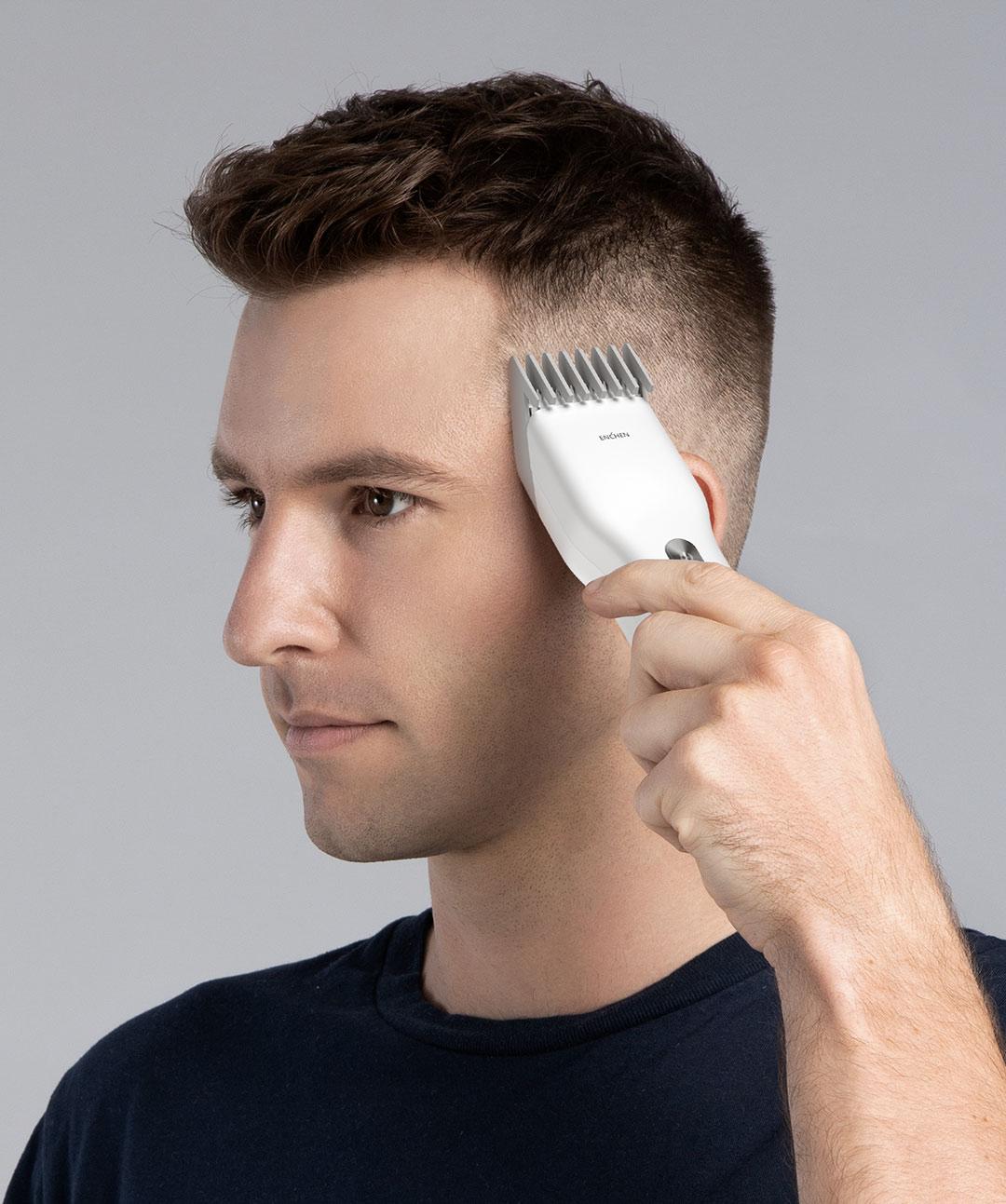 100% Original XiaoMi ENCHEN puissant tondeuse à cheveux professionnel tondeuse à cheveux hommes électrique Machine de découpe cheveux tondeuse coiffure