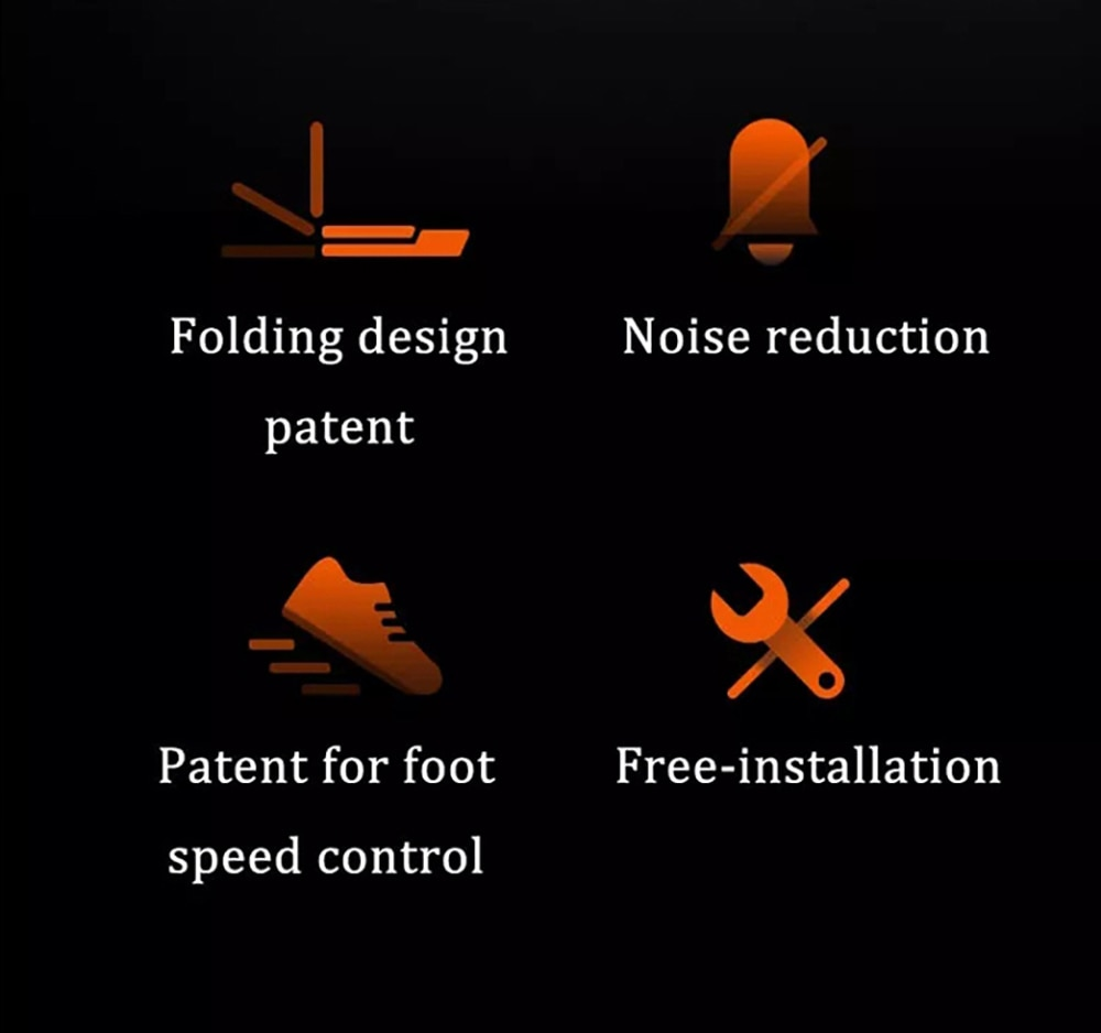 Xiaomi Mijia WalkingPad Mini pliant réduction du bruit sécurité ménage Machine de course application intelligente Sport gymnase équipement de Fitness