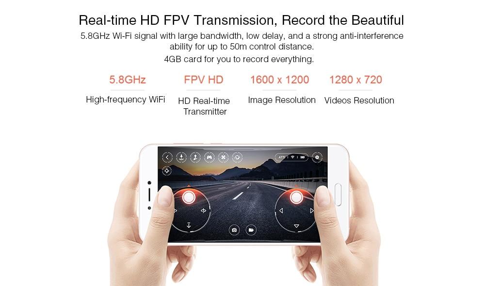 Drone d'origine Xiaomi MITU WIFI FPV 360 avec caméra 720P HD télécommande Mini avion intelligent Wifi FPV caméra Drone
