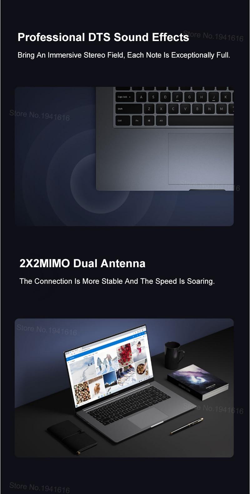 Xiaomi Redmi livre 16 pouces ordinateur portable